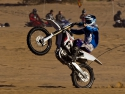 dirt bike motorcycle wheelie glamis