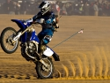 yamaha dirt bike wheelie