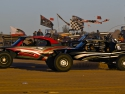 three sandrails racing glamis