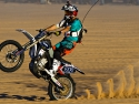 yamaha dirt bike motorcycle wheelie glamis